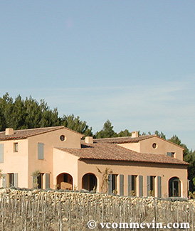 La Villa Minna Vineyard produit un excellent Vin de Table de Provence