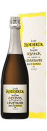 Philippe Starck Roederer brut nature 2009