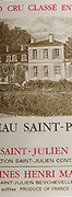 Saint Pierre 1995 magnum Saint Julien